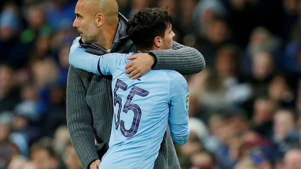 Guardiola defends Man City's youth record following Diaz departure