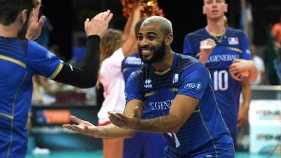 Volley: la France avec la Pologne, la Slovénie et la Tunisie