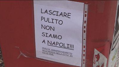 A Pordenone cartello denigra napoletani