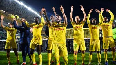 Ligue 1: Nantes à la peine bat un Montpellier réduit à 10