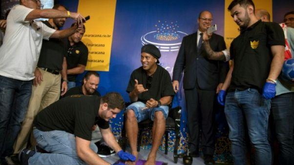 Ronaldinho laisse son empreinte dans le panthéon du foot brésilien