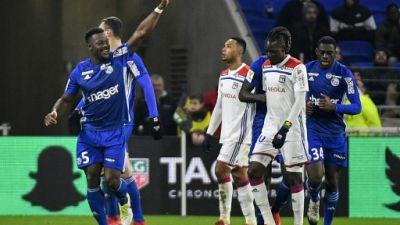 Coupe de la Ligue: Lyon tombe de haut
