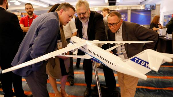Boeing unveils refreshed jet concept with ultra-thin wings