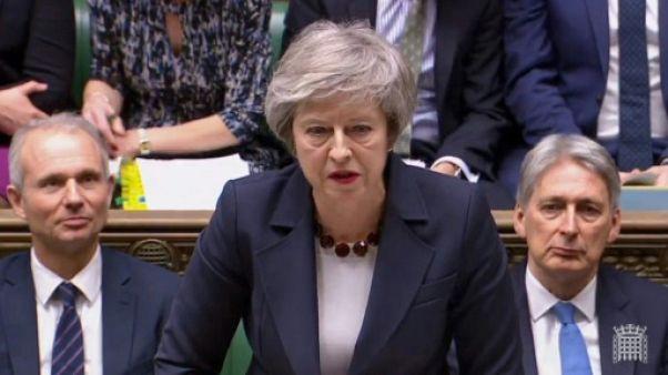 Brexit: nouveau revers au Parlement pour Theresa May