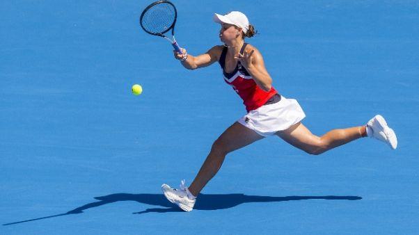 Tennis, Halep subito fuori a Sydney