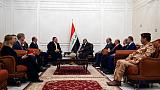 U.S. Secretary of State Pompeo meets Iraqi Speaker in Baghdad