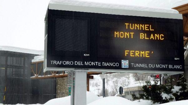 Traforo Mt Bianco chiuderà entro 7 anni