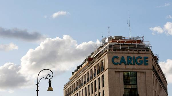 Italy Liguria region head opposes any nationalisation of Carige