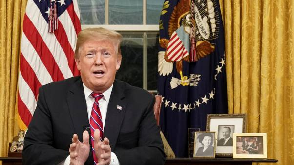 Trump still considering emergency declaration for border wall - spokeswoman