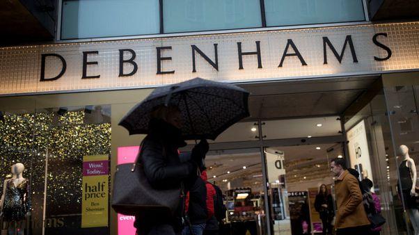 Debenhams lenders hire FTI to advise on restructuring - Sky News