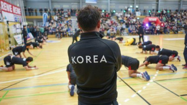 """Une équipe coréenne """"unifiée"""", curiosité des championnats du monde de handball"""