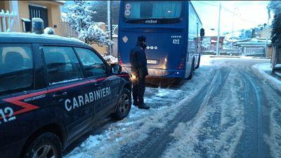 Allerta per gelo e neve in Sardegna