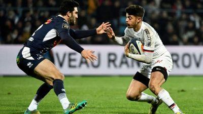 XV de France: cinq nouveaux dont Romain Ntamack appelés