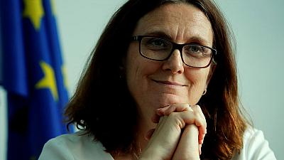EU trade commissioner says talks with U.S. will not include agriculture
