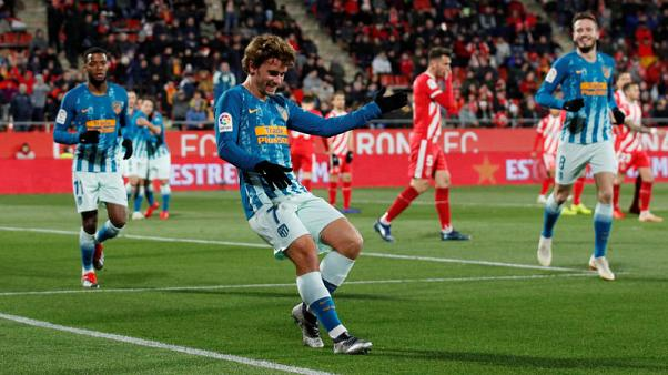 Griezmann strikes again as Atletico held to Cup draw at Girona