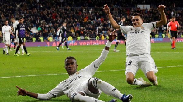 Coppa del Re: Real Madrid-Leganes 3-0