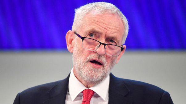 زعيم حزب العمال سيدعو الخميس لإجراء انتخابات عامة إذا خسرت ماي تصويت الخروج