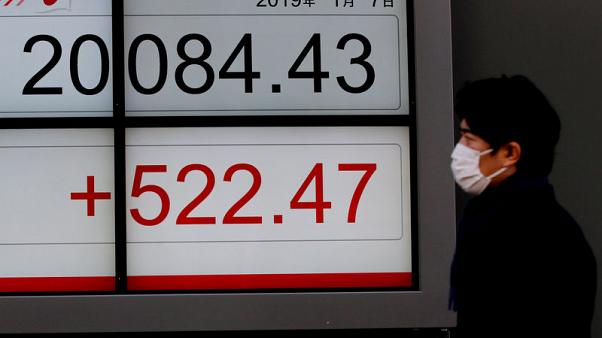 المؤشر نيكي ينخفض 0.76% في مستهل تعاملات طوكيو
