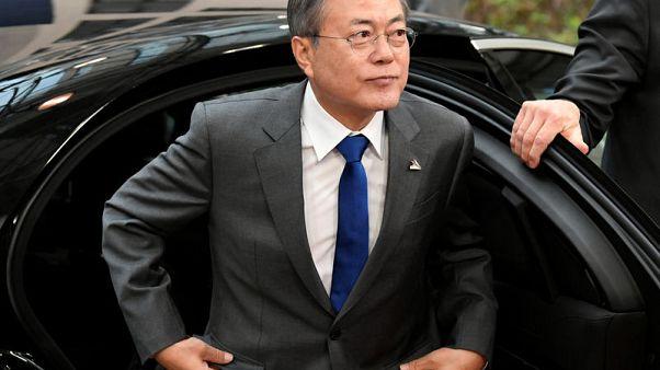 South Korea's Moon says second Trump-Kim summit, Kim's Seoul visit to happen soon