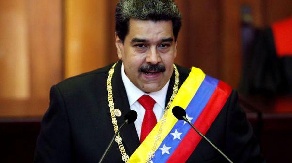Venezuela's Maduro starts new term as U.S. decries him as 'usurper'