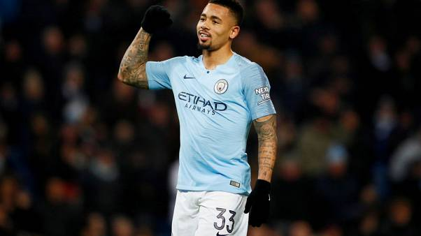 Jesus eyes more game time after four-goal salvo in City win
