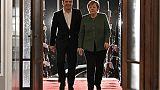"""Macédoine: la """"reconnaissance"""" de Merkel à Tsipras dans un climat apaisé"""