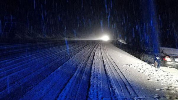 Neve in Sardegna, scuole chiuse
