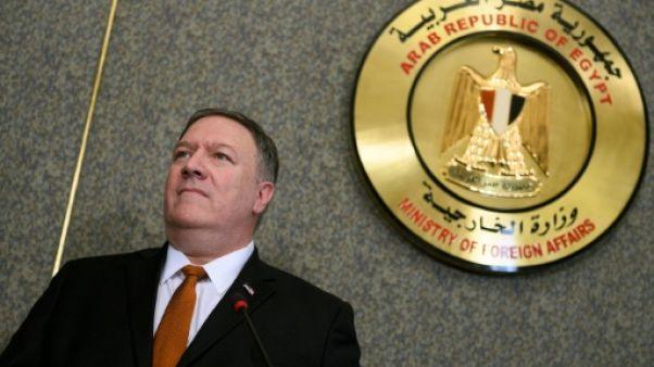 Au Caire, Pompeo lance un appel à l'unité contre l'Iran