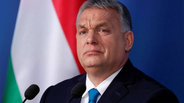 Hungary's Orban wants anti-immigration majority in EU institutions