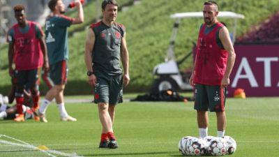 """Bayern: Ribéry blessé en stage, indisponible """"pour l'instant"""""""