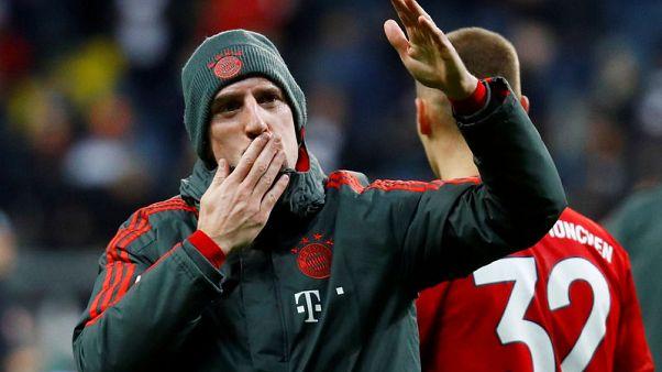 Bayern's Ribery suffers thigh muscle injury
