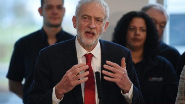 """Brexit: le Labour veut des élections législatives pour """"sortir de l'impasse"""""""