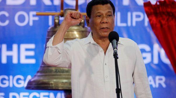 Philippine president renews attack on Catholic church