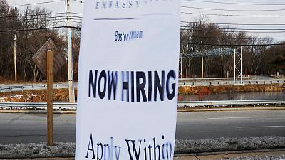 U.S. weekly jobless claims point to strong labour market