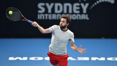 Tennis: 2e demi-finale de l'année pour Gilles Simon