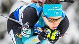 Biathlon: nouveau podium pour Chevalier au sprint d'Oberhof, victoire de Vittozzi