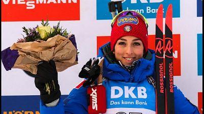 Biathlon: Vittozzi vince sprint Oberhof