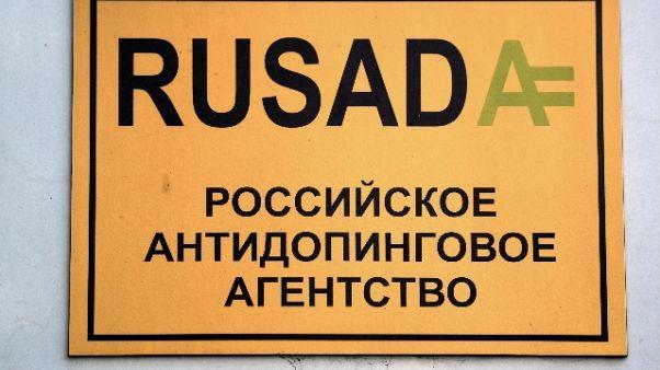 Wada acquisisce campioni atleti russi