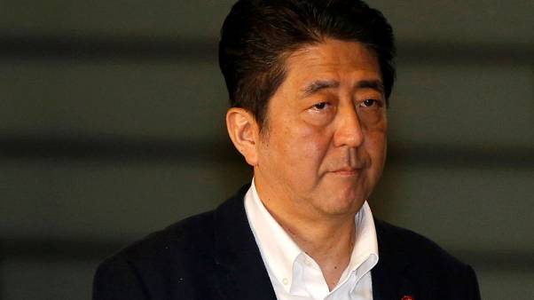 Japan's Abe says he hopes a no-deal Brexit will be avoided
