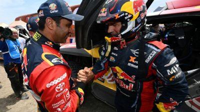 Dakar: Loeb s'écroule, al-Attiyah se renforce