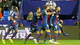 برشلونة يخسر 2-1 أمام ليفانتي في ذهاب كأس ملك إسبانيا