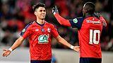 Ligue 1: duel à distance entre Lyon et Lille