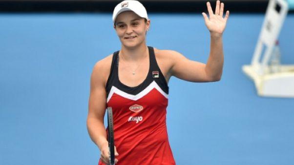 Tennis: Ashleigh Barty en finale à Sydney