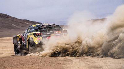 Dakar:tappa movimentata per Loeb,è sesto