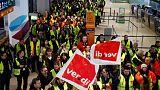 Verdi union calls for strike at Frankfurt airport on Jan. 15