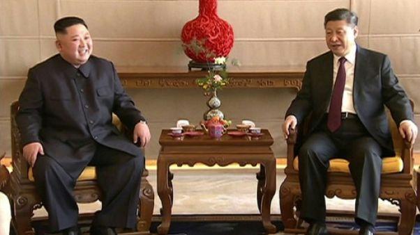 Face à Washington, Kim Jong Un renforcé par sa visite en Chine