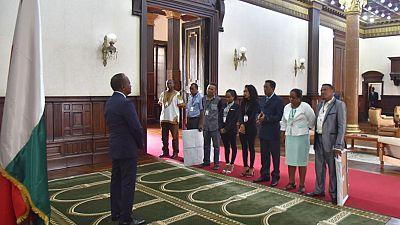 Vœux de la Région Betsiboka et de la Caisse Nationale de Prévoyance Sociale (CNAPS) Au Président de la République par intérim
