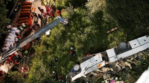 Italie: le patron des autoroutes relaxé après un accident de car meurtrier
