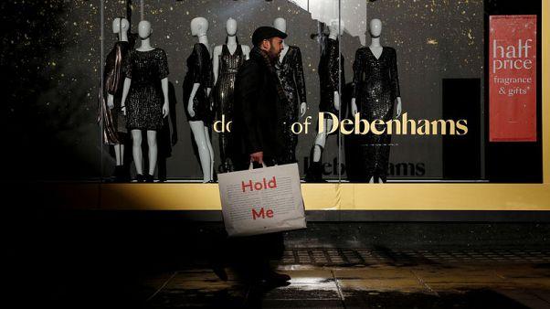 New Debenhams chairman seeks investor consensus as shares slide again