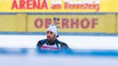 Biathlon: Fourcade 7e du sprint d'Oberhof, première victoire de Loginov